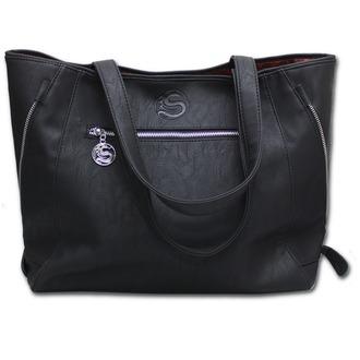 geantă de mână (sac) SPIRALĂ - Negru Pisica, SPIRAL
