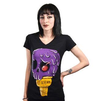 tricou hardcore femei - Ice Scream - Akumu Ink