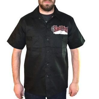 cămaşă bărbați NEGRU INIMĂ - tocător Bastard - Negru, BLACK HEART