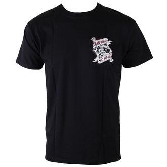 tricou de stradă bărbați - Rat Bastard - BLACK HEART, BLACK HEART