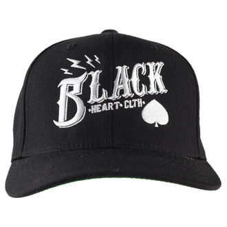 șapcă NEGRU INIMĂ - Cheie Craniu - Negru, BLACK HEART