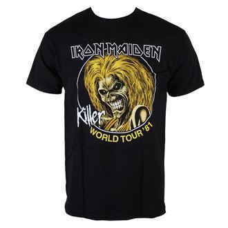 tricou stil metal bărbați Iron Maiden - Killers World Tour 81 - ROCK OFF, ROCK OFF, Iron Maiden