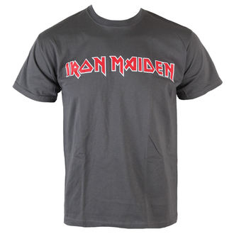 tricou stil metal bărbați Iron Maiden - Classic Logo - ROCK OFF, ROCK OFF, Iron Maiden