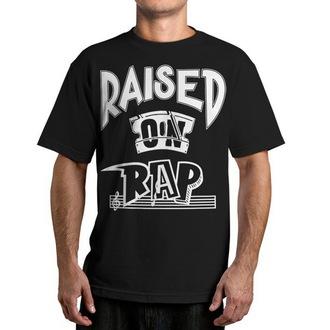 tricou de stradă bărbați - Raised On Rap - FAMOUS STARS & STRAPS, FAMOUS STARS & STRAPS