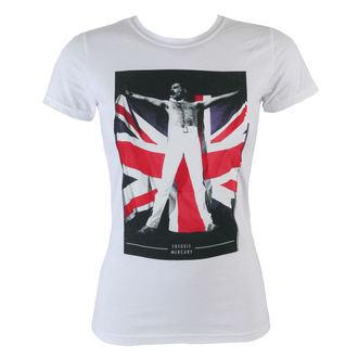 tricou stil metal femei Queen - Flag - BRAVADO, BRAVADO, Queen