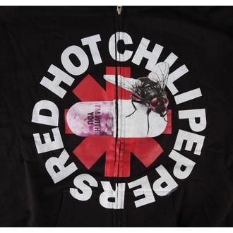hanorac cu glugă bărbați roșu Fierbinte chili Ardei - Cu Tu - Bravado - DETERIORATĂ, BRAVADO, Red Hot Chili Peppers