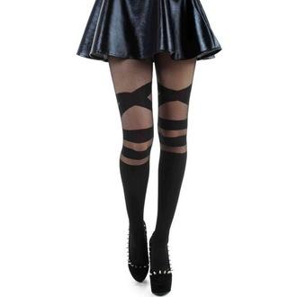 Ciorapi PAMELA MANN - V Strap Sheet - Black, PAMELA MANN