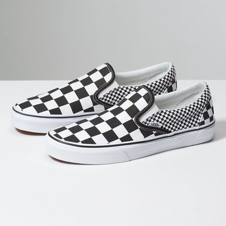 adidași scurți unisex - UA CLASSIC SLIP-ON (MIX CHECKER) - VANS, VANS