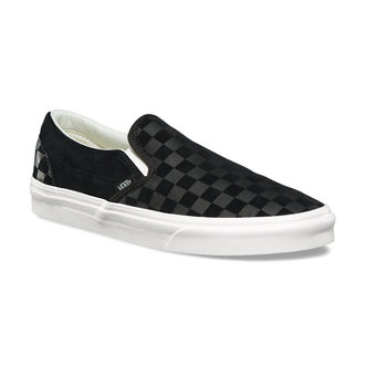 adidași scurți unisex - UA CLASSIC SLIP-ON (CHECKER EM) - VANS