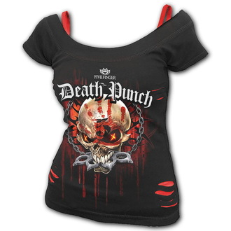 tricou stil metal femei Five Finger Death Punch - Five Finger Death Punch - SPIRAL, SPIRAL, Five Finger Death Punch