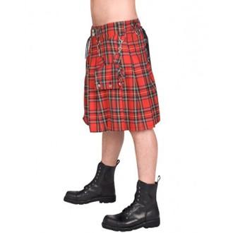 kilt bărbați NEGRU PISTOL - ochi fustanelă soldat scoțian - (Negru), BLACK PISTOL