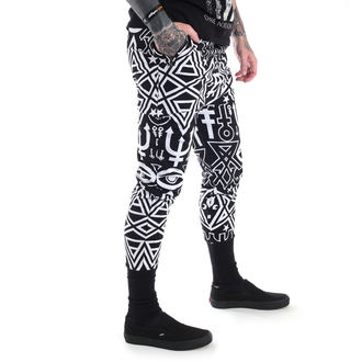 pantaloni (unisex) KILLSTAR - Thelema - Negru, KILLSTAR