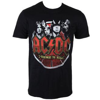 tricou stil metal bărbați AC-DC - Band Circle - PLASTIC HEAD, PLASTIC HEAD, AC-DC