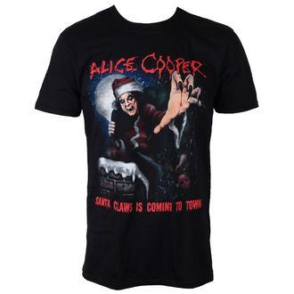 tricou stil metal bărbați Alice Cooper - Santa Claws - ROCK OFF, ROCK OFF, Alice Cooper
