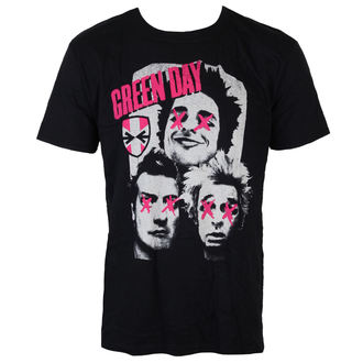 tricou stil metal bărbați Green Day - Patchwork - ROCK OFF, ROCK OFF, Green Day