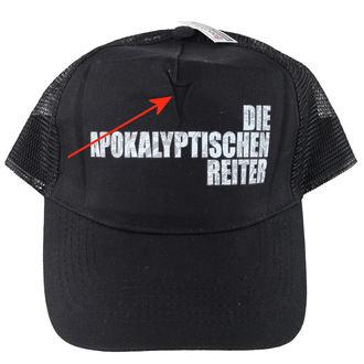 șapcă A muri Apokalyptischen reiter - Negru - MASACRU ÎNREGISTRĂRI - DETERIORATĂ, MASSACRE RECORDS