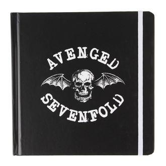 caiet Avenged Sevenfold - Clasic Deathbat - ROCK OFF, ROCK OFF, Avenged Sevenfold