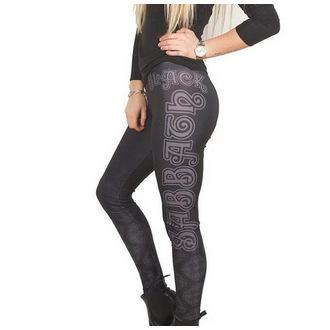 pantaloni femei (colanți) Black Sabbath - celtic Logo - ROCK OFF, ROCK OFF, Black Sabbath