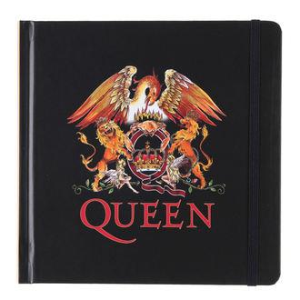 caiet Regină - Logo - ROCK OFF, ROCK OFF, Queen