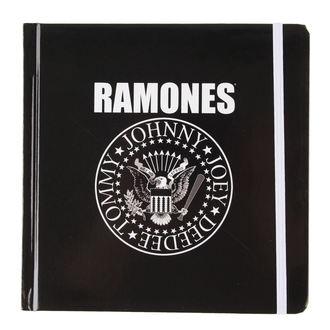 caiet Ramones - Prezidenţial Sigiliu, focă - ROCK OFF, ROCK OFF, Ramones
