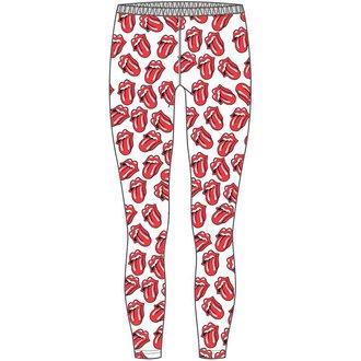 pantaloni femei (colanți) Rulare pietre - Clasic Limbă - ROCK OFF, ROCK OFF, Rolling Stones