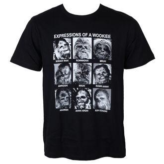 tricou cu tematică de film bărbați Star Wars - Expression Of a Wookie - LEGEND, LEGEND