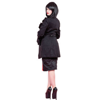 haină femei primăvară / toamnă INIMI ȘI ROSES - Ciufulit Maneca Lână, HEARTS AND ROSES