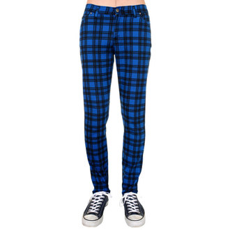 pantaloni (unisex) 3RDAND56th - Înregistrate - Negru / Regal, 3RDAND56th