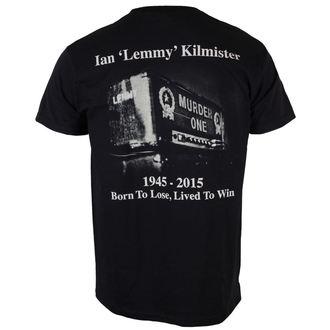 tricou stil metal bărbați Motörhead - Lemmy Lived To Win - ROCK OFF, ROCK OFF, Motörhead