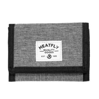 Portofel MEATFLY - LANCE - C - 1/26/55 - Heather Grey - Black, MEATFLY