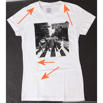 tricou stil metal femei Beatles BRAVADO N463, BRAVADO, Beatles
