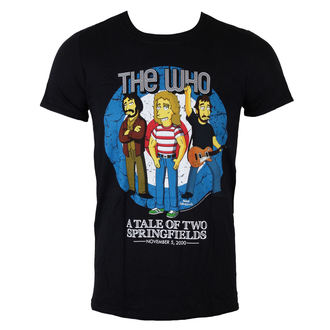 tricou stil metal bărbați Who - The Who Bullseye (Simpsons) - LIVE NATION, LIVE NATION, Who