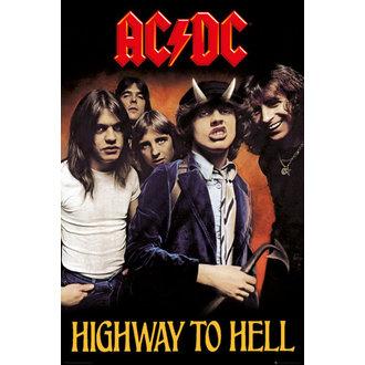 poster AC / DC - șosea La Iad - GB posters, GB posters, AC-DC