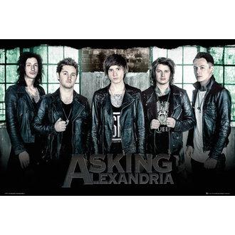 poster Asking Alexandria - Fereastră - GB posters, GB posters, Asking Alexandria