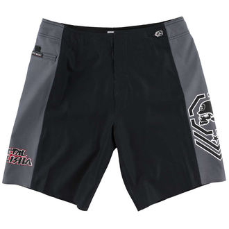 PANTALONI SCURTI METAL Mulisha FLEX LUPTĂ BLK-33, METAL MULISHA