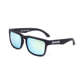 Ochelari de soare MEATFLY - Sunrise - G- Black/Grey, MEATFLY