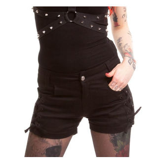 pantaloni scurți femei POIZEN INDUSTRIES - Ars - Negru - POI046