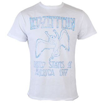 tricou stil metal bărbați Led Zeppelin - Wht - AMPLIFIED, AMPLIFIED, Led Zeppelin