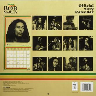 Calendar pentru anul 2019 BOB MARLEY, NNM, Bob Marley