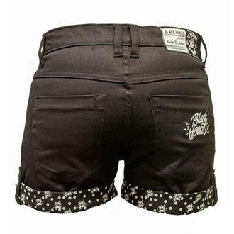 pantaloni scurți femei NEGRU INIMĂ - marcă - negru, BLACK HEART