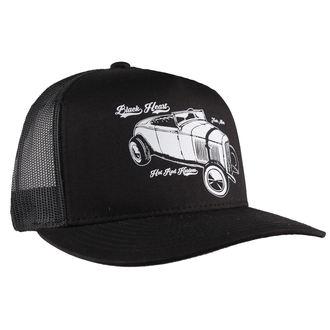 Şapcă BLACK HEART - Loud And Fast - black, BLACK HEART