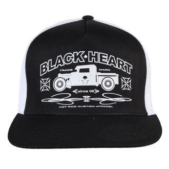Şapcă BLACK HEART - Pick Up - black / white, BLACK HEART
