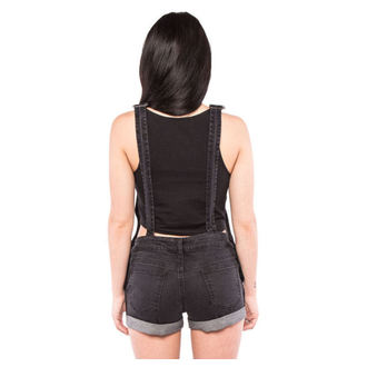pantaloni scurți femei IRON FIST - iadeș - Negru, IRON FIST
