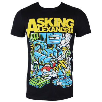 tricou stil metal bărbați Asking Alexandria - Killer Robot - ROCK OFF, ROCK OFF, Asking Alexandria