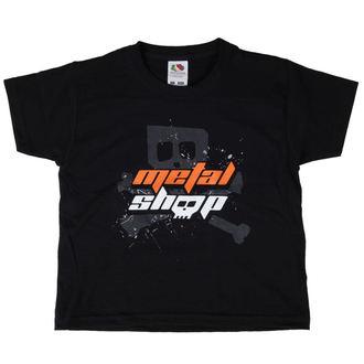 tricou stil metal copii - Black - METALSHOP, METALSHOP