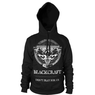 hanorac cu glugă bărbați - Protection Moth - BLACK CRAFT - HS032PM