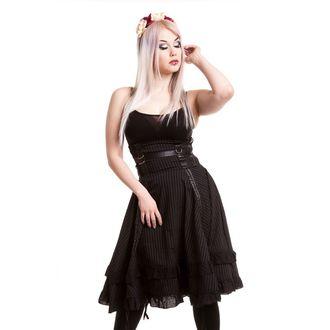 fustă femei POIZEN INDUSTRIES - Stray Cat - Negru - POI118