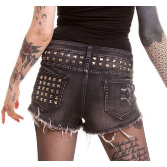 pantaloni scurți femei VIXXSIN - Razer - Negru, VIXXSIN