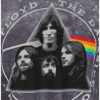 tricou stil metal bărbați Pink Floyd - Dark Side Group Tie-Dye - LIQUID BLUE, LIQUID BLUE, Pink Floyd
