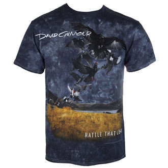 tricou stil metal bărbați Pink Floyd - Rattle That Lock - LIQUID BLUE, LIQUID BLUE, Pink Floyd